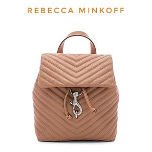 Rebecca Minkoff Edie Flap leather Backpack